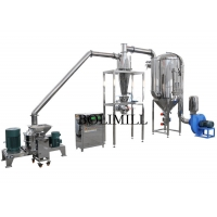 China Foodstuff Dust Collecting 400Kg/H Spice Grinding Machine on sale