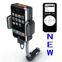 Buy cheap Dc 12v, Vehicle Power Black Fm Transmitter + Car Charger For Iphone 3gs 3g Ipod Touch product