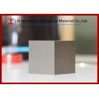 1 Kilogram Tungsten heavy Alloy Cube 38mm HIP Sintered with 95% pure W