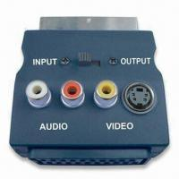 Buy cheap SCART Plug with 3RCA and S-Video Jacks and Switch product