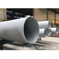 Buy cheap Large Diameter Stainless Steel Welded Pipe 304 / 316L Stainless Steel Tube Welding product