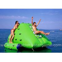 Professional Commercial Inflatable Water Sports , Inflatable Water Climbing Wall