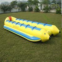 Buy cheap 0.9 Mm Good Tension Tarpaulin PVC Inflatable Raft Lightweight Inflatable Boat product