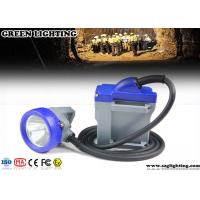 Buy cheap Cord Safety Rechargeable LED Miners Light10000 Lux 3W High Power Main Light product