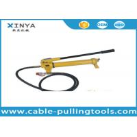 Buy cheap Model CP-700 Hydraulic Hand Pump For Hydraulic Crimping tools 700bar 1000Psi product