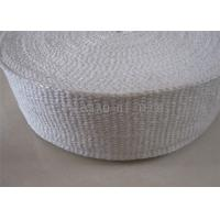 Buy cheap 1260℃ Insulation Ceramic Fiber Tape Heat Insulation High Tensile Strength product