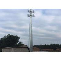 Buy cheap Self Supporting Outdoor Antenna Tower , 50 Meter Home Radio Tower 20 Elongation product
