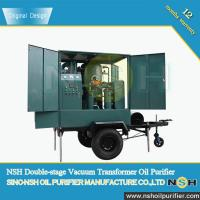 Buy cheap Best Quality used transformer oil filter machine, improve oil dielectric strength, connect with transformer,mobile type product