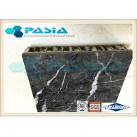 Buy cheap Lightweight Stone Aluminum Honeycomb Panel With Marble Stone Veneer Anti - Pollution product