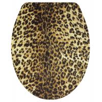 Buy cheap polyresin toilet seat cover,leopard design toilet seat,sea star,shell transparent, product