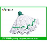 Quality Floor Cleaning Accessories Home Cleaning Mop / Microfiber Mop Heads Withe Color for sale