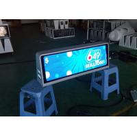Buy cheap Professional P2.5 mm Full Color Taxi Roof LED Display Car Top LED Advertising signs product