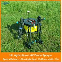 Buy cheap uav agriculture, quadcopter drone crop sprayer, agricultural uav with autopilot and gps product