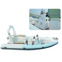 Buy cheap Large Rigid Hulled Inflatable RIB Boats Tenders Inflatable Power Boats 7.0 Meter product