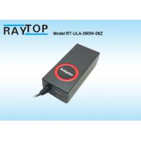 Buy cheap Red Epoxy Circle Engraved LOGO 90W Automatic Universal Laptop AC Adapter 10 Tips product