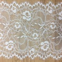 Buy cheap 15 cm Underwear Strench Lace Border Eyelash lace edge with ivory black color in stock product