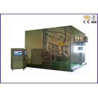 Buy cheap Stainless Steel Smoke Density Apparatus , 3 Meter Smoke Density Test For Cables product
