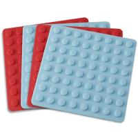 Buy cheap Kitchenware bakeware silicone thick placemat with round lines product