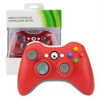 Buy cheap Durable Red XBOX 360 Game Controller 9 Meter Wireless Range 3 Months Warranty product