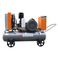 Buy cheap Electrical Shift Water Well Air Compressor , Mobile Series Industrial Air Compressor product