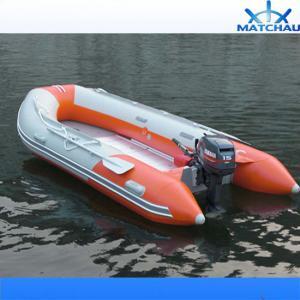 Lancha inflada da proteção de inundação do motor borracha externa