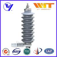 24 KV Gray MOA Electronic Polymeric Polymer Lightning Arrester Used in Substation