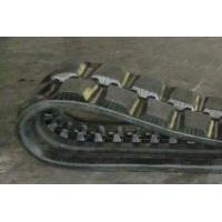 China Sturdy Durable Track Loader Rubber Tracks Anti - Vibration 84mm Pitch on sale