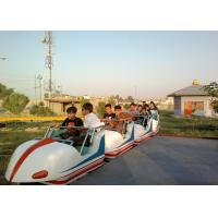 Buy cheap Space Train Design Kiddie Roller Coaster Customized Capacity For Children / Adults product