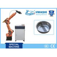 Buy cheap Laser Welding Robots For Divided Hotpot , Six Axis Laser Welding Robot Machine product