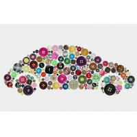 Buy cheap Garments Accessories Flatback 4 Hole Buttons product