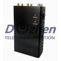 Buy cheap GPS 3G 4G Wimax Handheld Cell Phone Jammer , Wifi Signal Blocker Device 5 Watt product