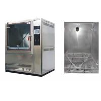 Buy cheap 1000L Volume Dust Test Chamber AC380V 50 / 60Hz With Centrifugal Fan Blower product