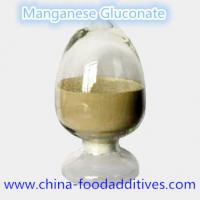 Buy cheap Manganese Gluconate Nutrition enhancers Food grade Food additives CAS:6485-39-8 product