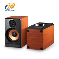 China OEM Perfect Sound Wood Mini USB 2.0 CH Gaming PC Speaker with Woofer on sale