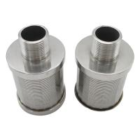 Buy cheap SS 316 Wedge wire Johnson filter nozzle strainer from wholesalers