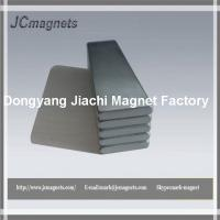 China N38H NdFeB long block magnet for wind generator on sale