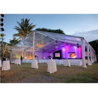 Buy cheap 15x30m 500 Seaters Luxury Beautiful Wedding Party Tent Steel Frame Material from Wholesalers