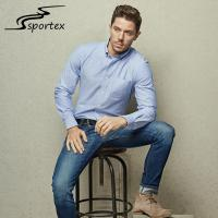 Simple Cotton Formal Shirts For Mens , Plain Formal Shirts XS - 2XL Size
