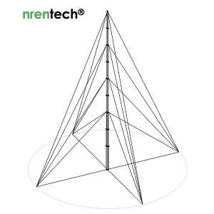 Buy cheap 15m lockable pneumatic telescopic mast 30kg payloads NR-2870-15000-30L product