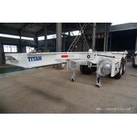 Buy cheap 20ft shipping container trailer chassis skeleton container trailer- TITAN VEHICLE product