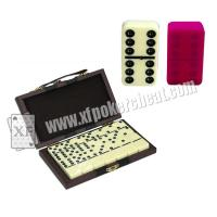 Buy cheap Yellow Double Six Dominoes Mark For Poker cheat in cards game product
