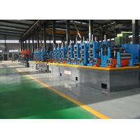 China HF Automatic Steel Pipe Making Machine , SS Tube Mill 21 - 63mm Dia on sale