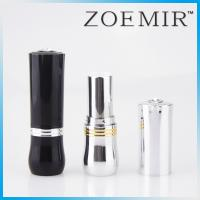 Buy cheap Made in Guangzhou Round shape plastic cosmetic lipstick lip balm tube packaging with jewel decotated product