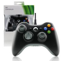 Buy cheap Black XBOX 360 Game Controller Slim Wired Joystick ABS Material Comfortable Button product