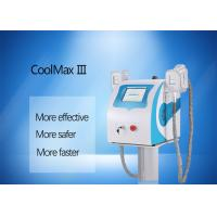 Buy cheap Salon / Clinic / Home Use Body Fat Freezing Machine Portable With Two Cryo Handles product