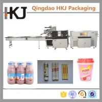 Buy cheap 220V 22KW Automatic Shrink Wrap Machine / Snacks Packing Machine 7250*1190*1650mm product
