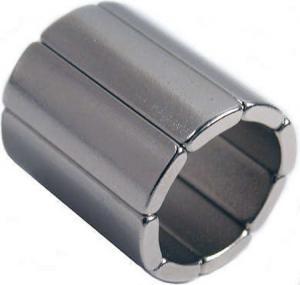 Buy cheap custom tile shape neodymium motor magnet product