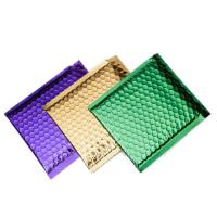 Buy cheap Colorful Metallic Glamour Bubble Mailers , Metallic Shipping Envelopes Tear Resistant product