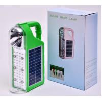 Buy cheap Quality LED Solar Energy Light with Solar panels Poly 6V*1W and Lead acid battery 4V/3200MAH product