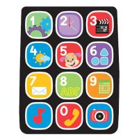 China Light Weight Touch Screen Membrane Switch Overlay With Colorful Buttons on sale